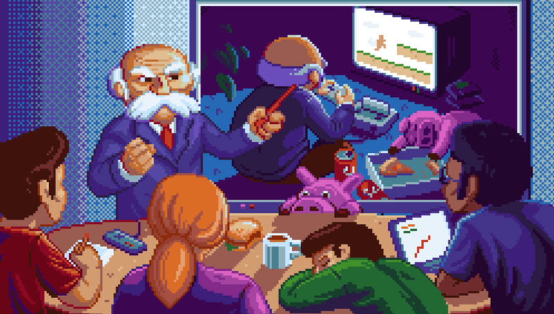 Illustration for article titled New Super NES Game Is All About The Dangers Of Crunch