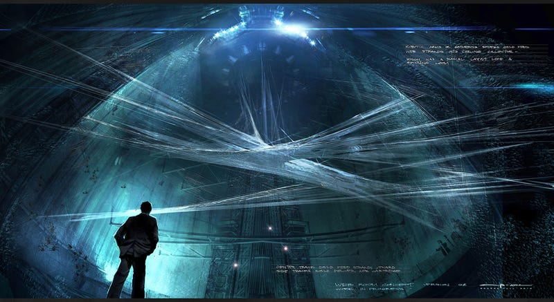 Illustration for article titled Brand new Amazing Spider-Man concept art takes you deep inside OsCorp!