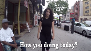 "Shoshana B. Roberts in ""10 Hours of Walking in NYC as a Woman""SCREENSHOT COURTESY OF HOLLABACK"