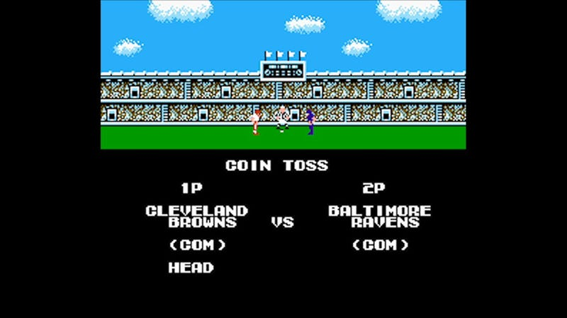Illustration for article titled Browns. Ravens. Tecmo Super Bowl.