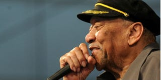"Bobby ""Blue"" Bland performs in New Orleans in 2011. (Rick Diamond/Getty Images Entertainment)"