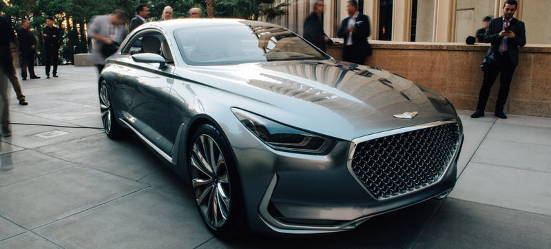 Illustration for article titled Hyundai Plans Genesis Luxury SUVs And Coupe By 2020