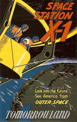 Illustration for article titled Space Station X-1 (circa 1955)