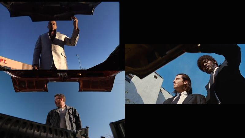 Breaking Bad and Pulp Fiction\'s visual parallels are hard to miss