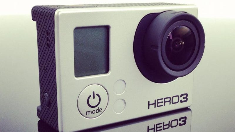 Illustration for article titled GoPro's Rugged New Hero3 Shoots 4K Video