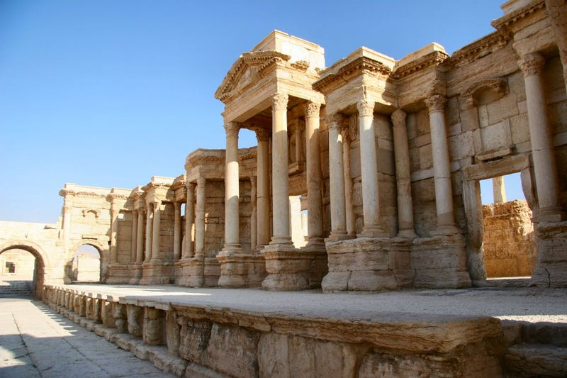 Illustration for article titled Islamic State Forces Have Seized The World Heritage Site Of Palmyra