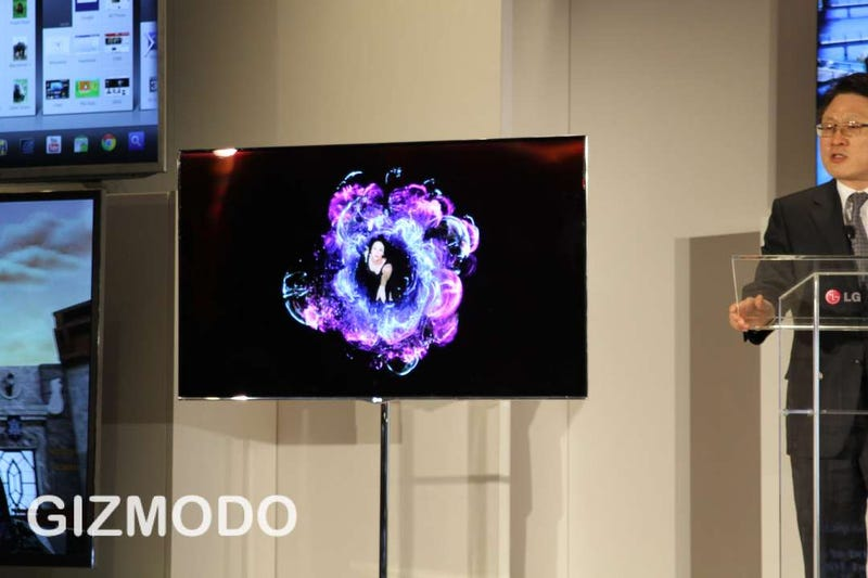 The First Gorgeous Oled Tv Will Cost 8 000
