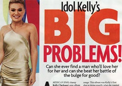 Illustration for article titled Editorial: Kelly Clarkson Proves Self-Esteem And Good Outfits Are For Losers