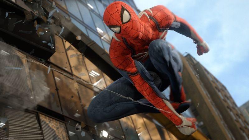 Screenshot: Spider-Man/Sony