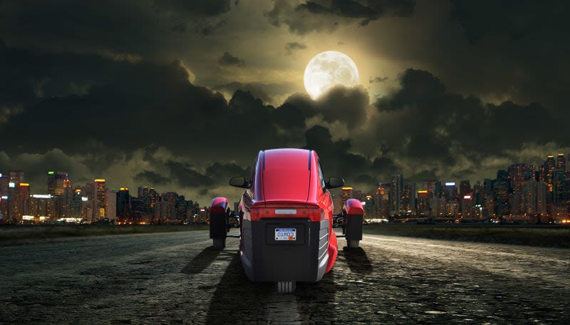 The Elio in the night (in theory)