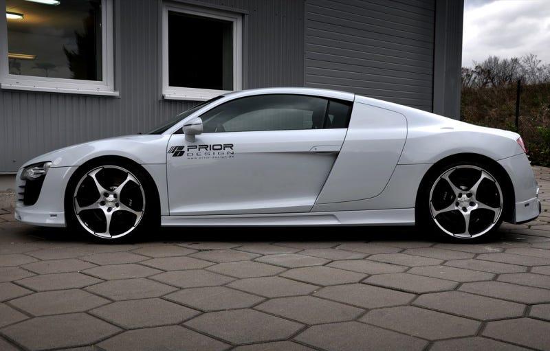 Illustration for article titled R8 Carbon: For Those Who Detest Audi R8 Sideblades