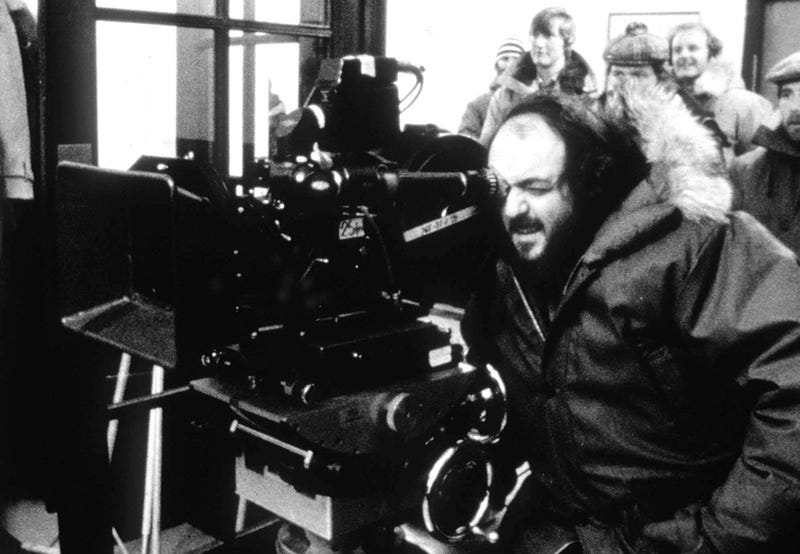 Stanley Kubrick in 1999 during the filming of his final movie Eyes Wide Shut (AP Photo)