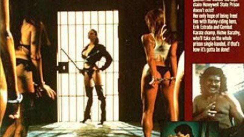 Films That Time Forgot Caged Fury