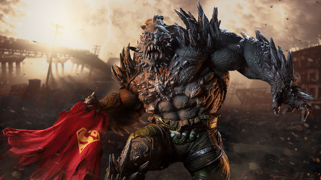 Sideshow s Imposing Doomsday Statue is Ready to Kill Every Superman on Your Toy Shelf