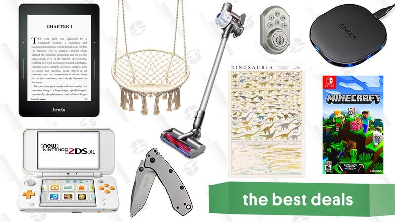 Illustration for article titled Monday's Best Deals: Cordless Dyson, Pop Chart Lab Sale, Kindle Voyage, and More