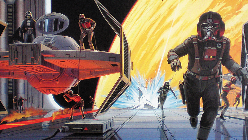 Inside a Treasure Trove of Rare Ralph McQuarrie Star Wars Art