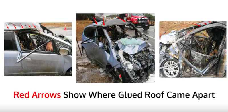 Couple Awarded $42 Million After Crash Because Shop Glued Roof Instead Of Welding It