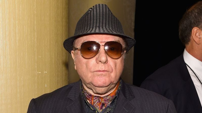 Illustration for article titled Van Morrison Removed From Rock And Roll Hall Of Fame Following Allegations He Bet On Album Sales