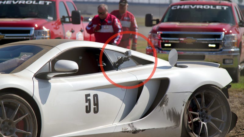 Mclaren Driver Allegedly Crashed Supercar Into Subaru Brz