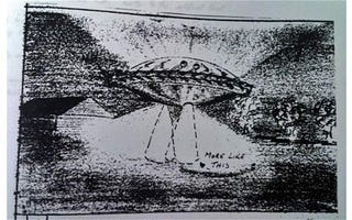 Illustration for article titled New Zealand releases four decades of secret UFO documents