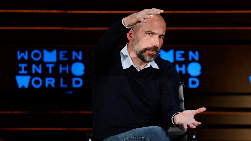 Illustration for article titled Uber's Dara Khosrowshahi Tries Giving 'the D' to Coworkers