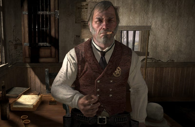 Illustration for article titled Losing His Voice In Red Dead Redemption