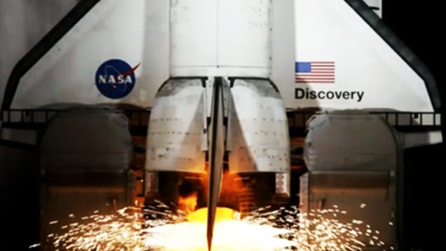 Stellar Dslr Time Lapse Of A Space Shuttle Launch