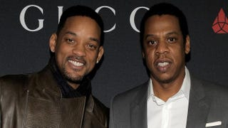 Will Smith and Jay Z in 2011Charley Gallay/Getty Images