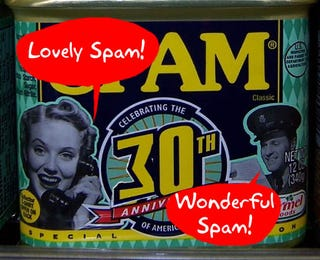 Illustration for article titled Happy 30th Birthday, Spam!