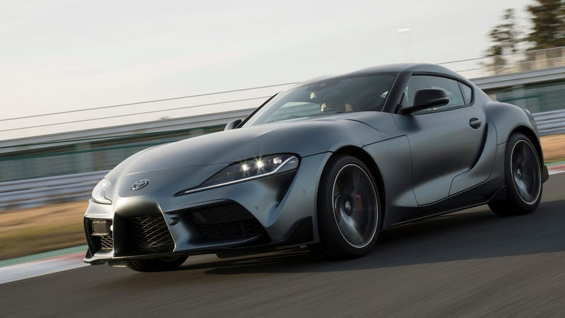 The Lowest Four Cylinder 2020 Toyota Supra Gets 194 Hp Less Than The 86