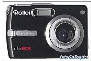 Illustration for article titled Rollei dx63 6.36 Megapixel Camera