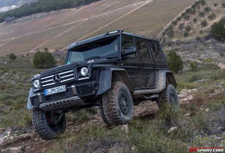 Illustration for article titled Exclusive Mercedes-Benz G500 4x4² Review Off-Road With GTspirit