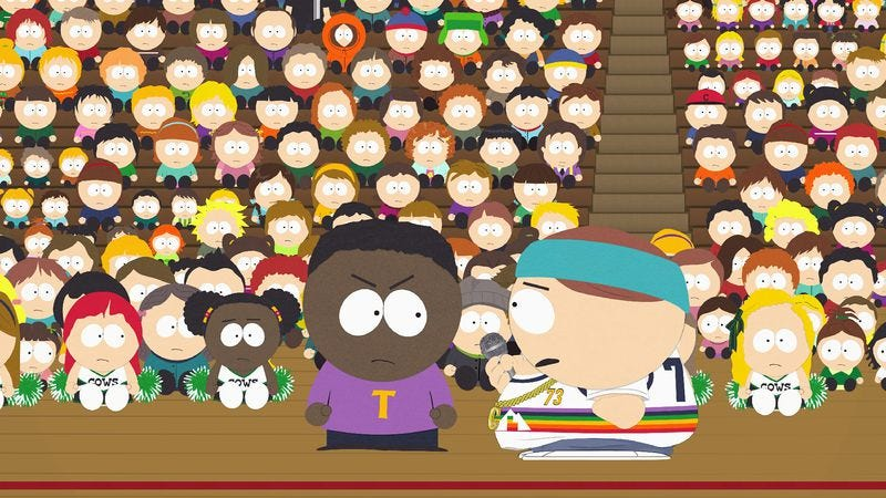 "Illustration for article titled South Park: ""World War Zimmerman"""