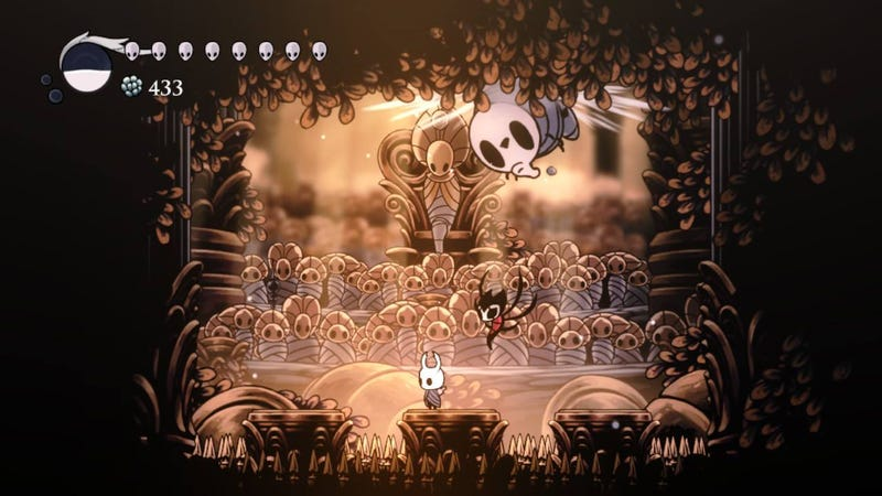 Illustration for article titled How To Start Hollow Knight's New DLC, Godmaster