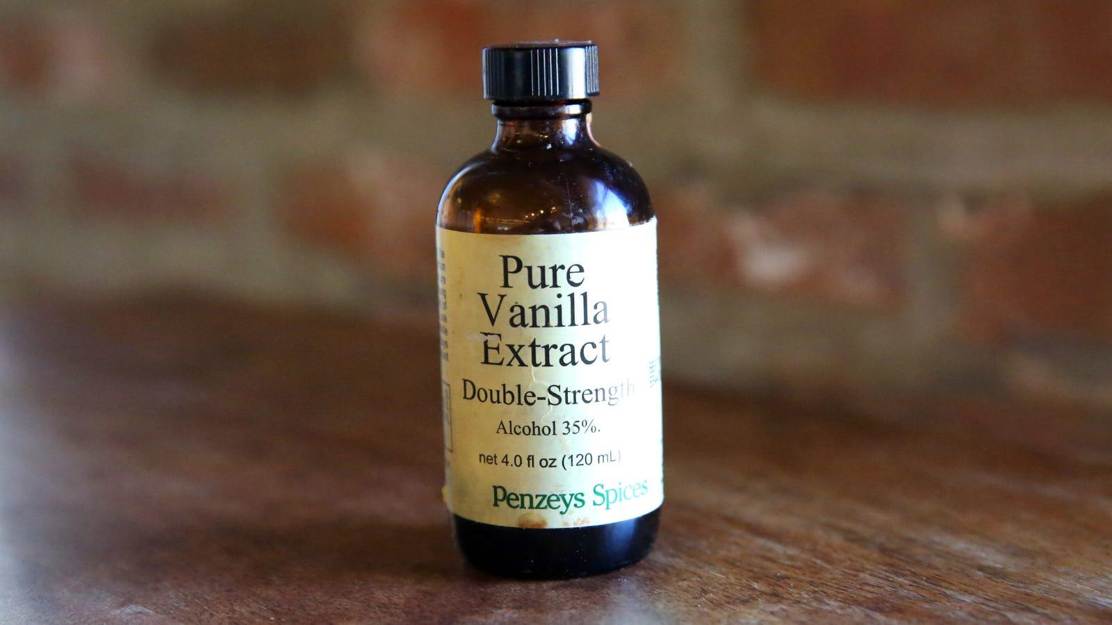 Penzeys' double-strength vanilla will make your holiday