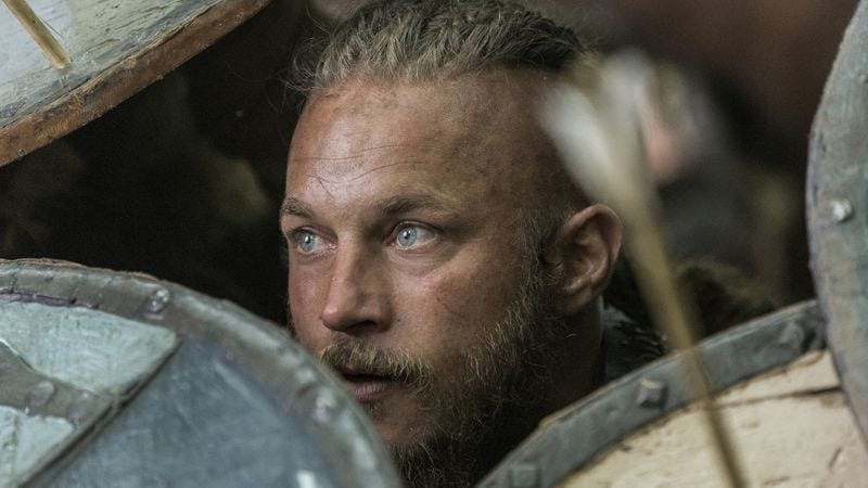 Travis Fimmel as Ragnar Lothbrok (History Channel)