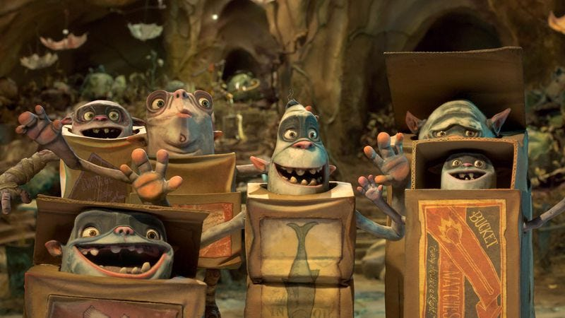 The Makers Of Coraline Return With Another Morbid Marvel The Boxtrolls