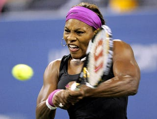 Illustration for article titled Frustrated Serena Williams Snaps Dildo In Half Inside Herself