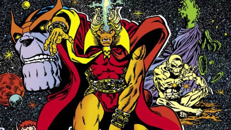 Illustration for article titled Jim Starlin's Warlock sets the standard for cosmic comics