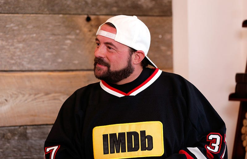 """Illustration for article titled Kevin Smith is recovering from a """"massive heart attack"""""""