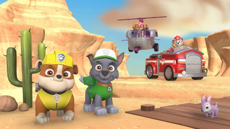 Illustration for article titled My Son And I Have Issues With The Latest Paw Patrol Game