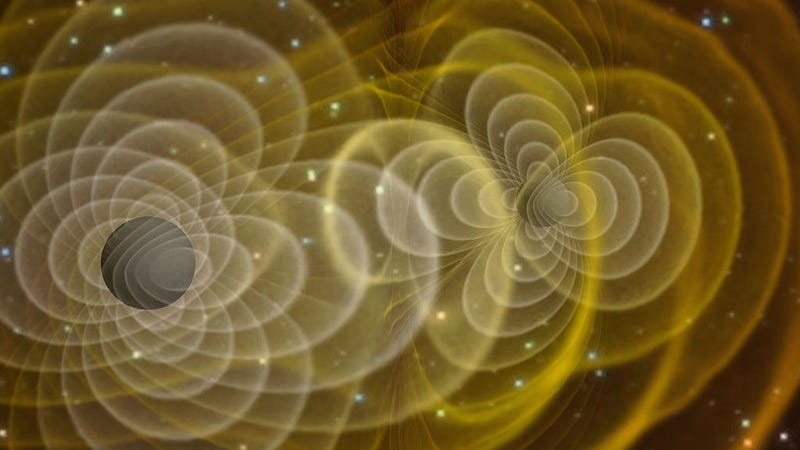 gravitational waves reveal the unexpectedly weird behavior of