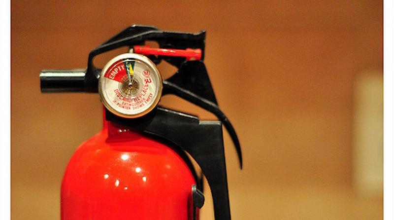 Illustration for article titled Your Fire Extinguisher Needs Quick, Regular Maintenance