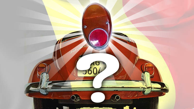 Illustration for article titled It's Time for Another Baffling Volkswagen Beetle Taillight Mystery