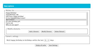 Illustration for article titled HappyBirthday Extension Sends Out B-Day Wishes on Facebook So You Don't Have To