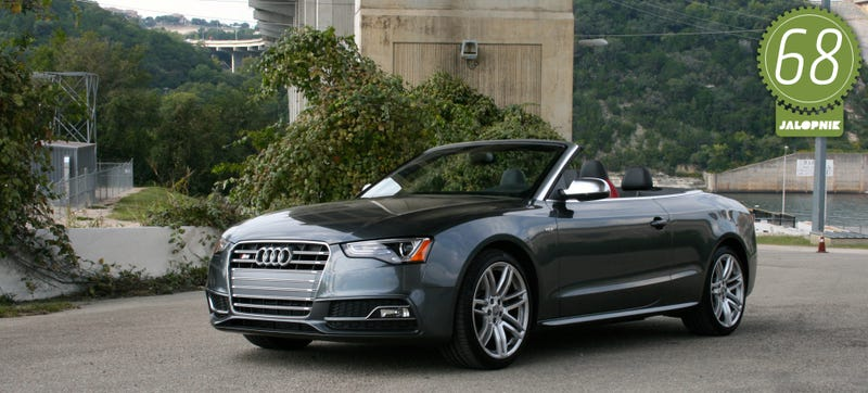 2015 audi s5 cabriolet the jalopnik review. Black Bedroom Furniture Sets. Home Design Ideas
