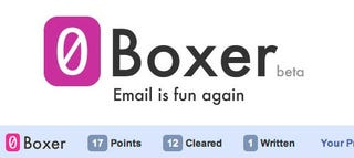Illustration for article titled 0Boxer Turns Inbox Zero into a Game in Gmail