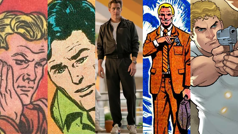 Steve Trevor, Steve Howard (née Trevor), Steve Trevor, Steve Trevor, and, you guessed it, Steve Trevor.