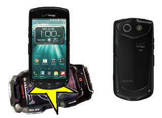 Illustration for article titled G-Shock phone is dead, long live Brigadier!