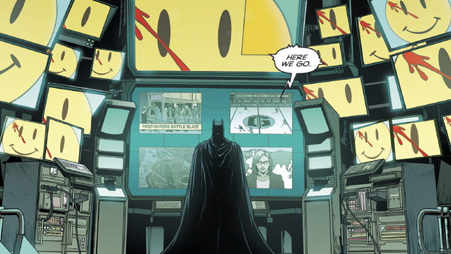 this week s batman holds the next big clue about dc s rebirth and the watchmen
